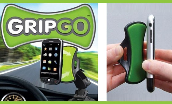 Talk and drive safely with the GripGo Universal Hands-Free Phone Mount, only R139! Suitable for any mobile phone, GPS & tablet, INCL FREE NATIONAL DELIVERY! Valued at over R250