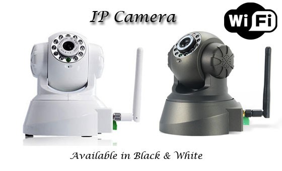 Stream and record live images while protecting your home & family with this awesome IP camera, only R899! INCL FREE NATIONAL DELIVERY (Valued at more than R1450) Available in Black or White