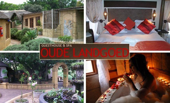Spend some time away from it all with a loved one at Oude Landgoed Guest Lodge, situated in Rustenburg. Just R799 for a stay for 2 incl breakfast, full body 30 minute Aroma massage and more