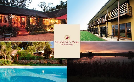 Escape from the stress of the city and take a breath of fresh air in the tranquil surrounds of Bergville, gateway to the Drakensberg for only R1199! Enjoy a 2 night's stay for 2 people + 2 Kids under 12 and more at the Sandford Country Hotel