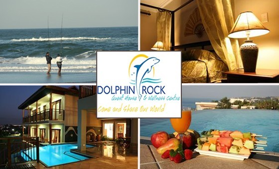 Experience breath-taking 180-degree sea views with your partner at the magnificent Dolphin Rock Guest House, just 45 minutes from Durban. Only R699 for an overnight stay for two incl breakfast, a bottle of wine and more (value R2100)