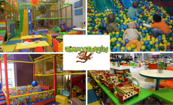 Let your kids play, learn and grow at Jimmy Jungles!