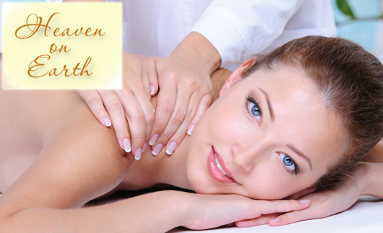 1-hour Treatment incl a 40-min Relaxing Back, Neck and Shoulder Massage, a 20-min Foot Scrub and more