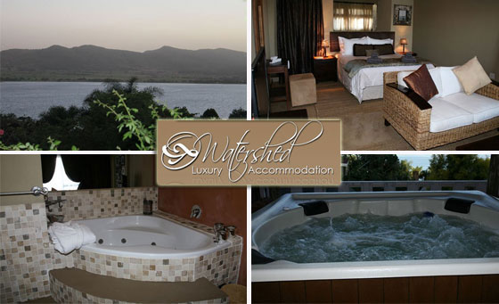 Romantic stay at Watershed Luxury Accommodation for 2