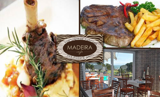 A delicious meal for TWO in Camps Bay!