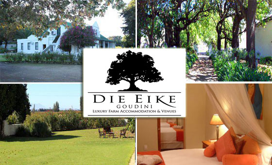 Cape Winelands escape for TWO nights at Die Eike