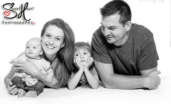 60-minute in-studio or on location Family Photo Shoot