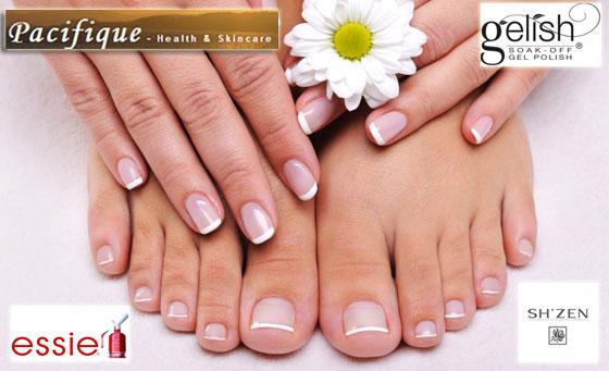 Enjoy a paraffin manicure, paraffin pedicure & more!