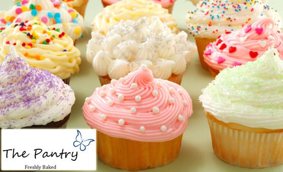 18 delicious Chocolate OR Vanilla decorated Cupcakes
