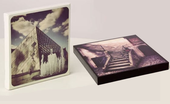 x2 A3 block mounts prints or x1 A3 stretch canvas print