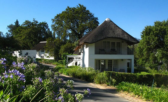 An overnight stay for 2 at the 4-Star Villas at Le Franschhoek