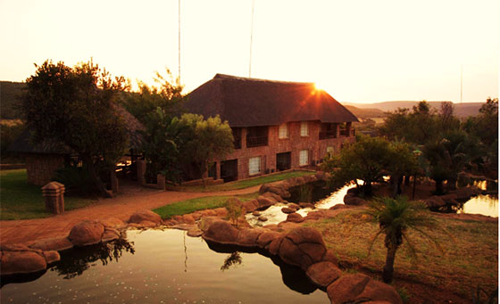 An overnight stay for 2 at Zebra Country Lodge