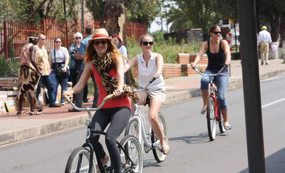 Guided bicycle tour for 2 including all gear, lunch & more!