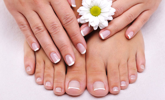 Enjoy a manicure and pedicure with a paraffin dip and more