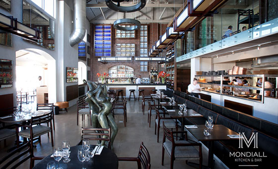A delicious meal for 2 at the Mondiall Kitchen and Bar in the V&A Waterfront