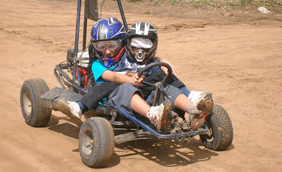 11 exciting go-kart laps at Dirt Ryders Adventures