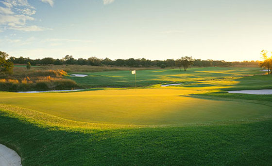 Enjoy a four-ball round of golf and more!