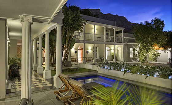 Romantic 4-star accommodation in the heart of the Mother City