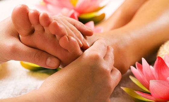 Therapeutic reflexology massage at the Westville Reflexology Centre