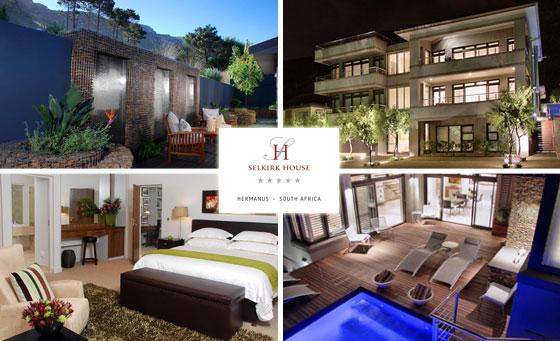 The ultimate 5-star 2-night stay for 2 at Selkirk House in Hermanus