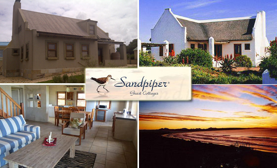 A rustic yet luxurious 2-night stay for 2 at Sandpiper Cottages