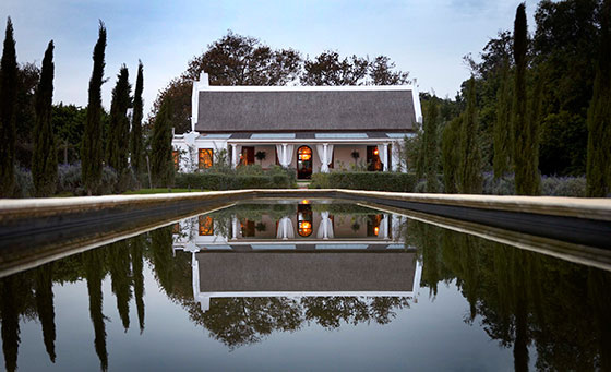 A stunning Cape Winelands getaway for 2 at Hawksmoor House