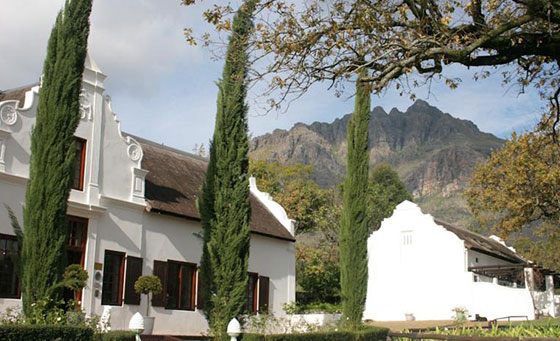 A 2-night Cape Winelands escape for 2 people