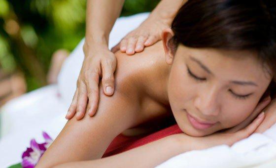 A 30-minute Grand Swedish back, neck and shoulder massage + more