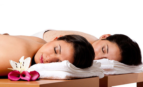 A luxurious spa package for 2 at Heavens Spa