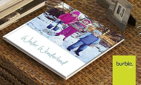 A 24 page personalised hardcover photo book including delivery