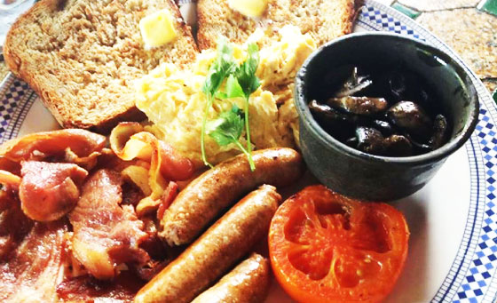 A breakfast buffet for 2 at the renowned moyo Blouberg