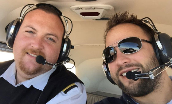 Introductory scenic flight lesson through the Cape Winelands