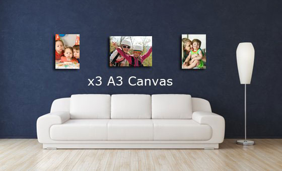 x3 quality A3 block mounted canvas prints from Print 24