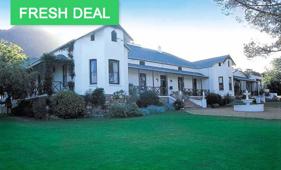 A 4 star Cape Winelands escape at Riebeek Valley Hotel