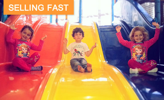 Pizza and family fun at Blasters Family Restaurant