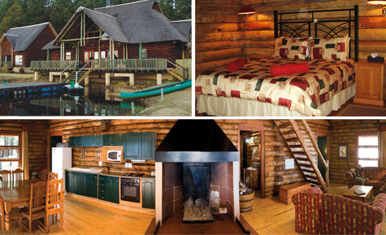 A 2 night stay for 4 including breakfast at Lakenvlei Forest Lodge