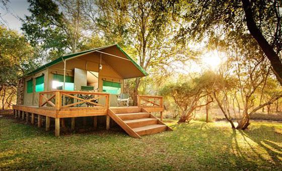 Family safari getaway for up to 4 people at Mulati Safari Camp