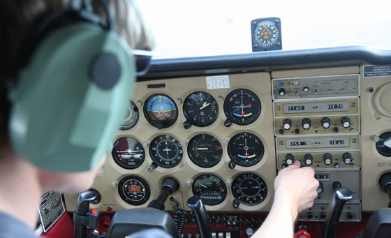 Pilot an aircraft yourself with a guided instructor with African Skyline