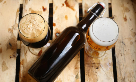 A craft beer workshop with The Chef School for Food & Wine