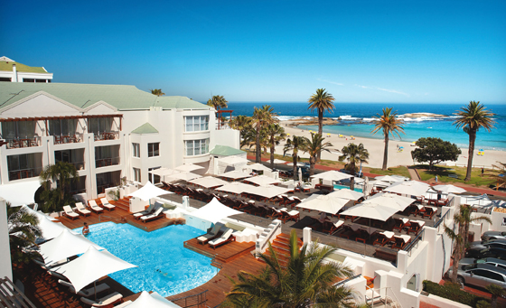 2 night Camps Bay escape for 2 at the luxurious The Bay Hotel