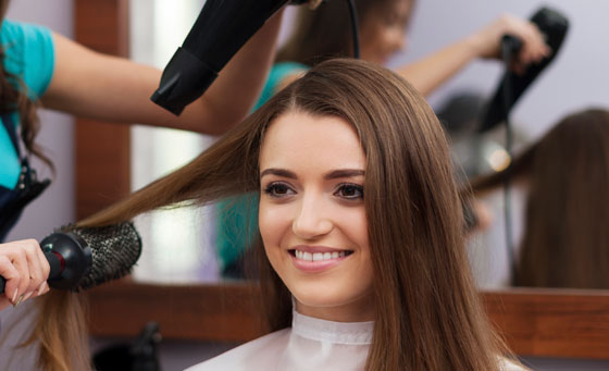 A wash, cut and blow dry at Bella Donna Hair Studio