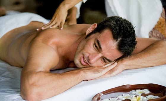 A full body massage plus a 25 minute mani or pedi at HOMME SPA
