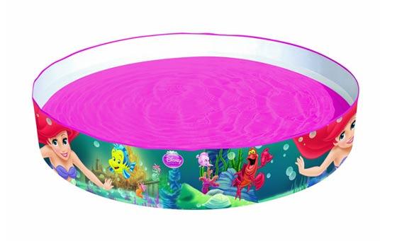 A 340L Little Mermaid fill 'n fun pool