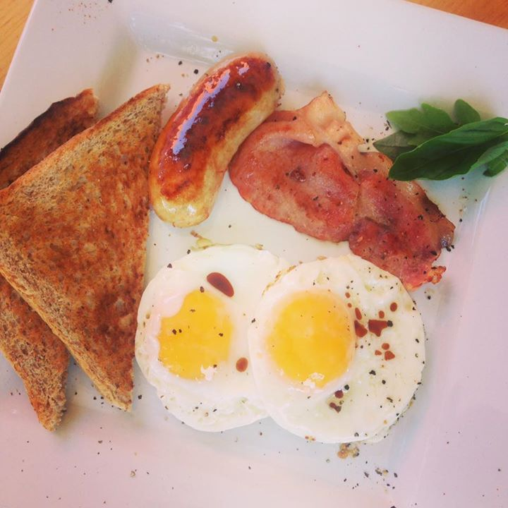 A Quickie Breakfast for 2 including eggs, bacon and more at Pop Up Society