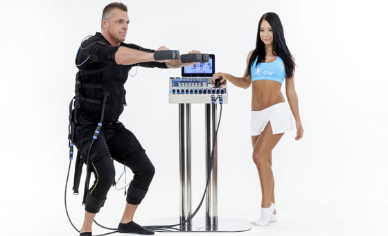 Get fit with 2 Electro Muscle Stimulation sessions