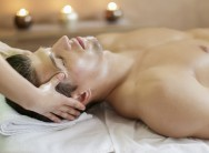 60 minute men's spa package