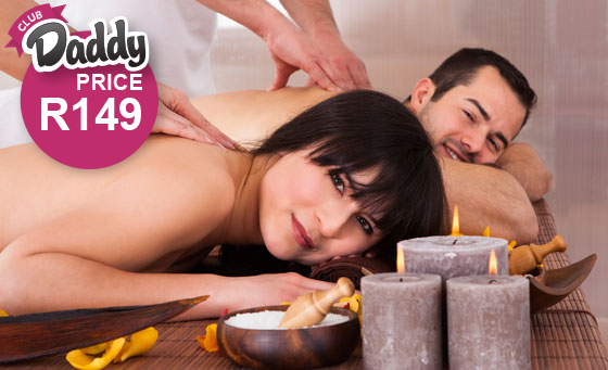 A 1 hour 15 minute spa package for 2