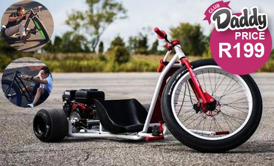 A trike bike drifting experience for 2