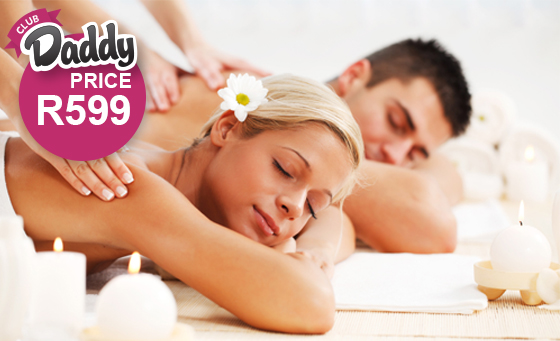 Relaxing spa package for 2 including welcome drinks at Ikhutsa Day Spa