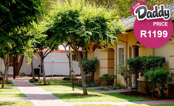 Relaxing getaway for 2 including breakfast at Mbombela Holiday Resort & Spa